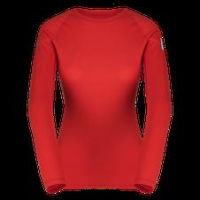 Termoprádlo Zajo Elsa Merino W Tshirt LS - racing red