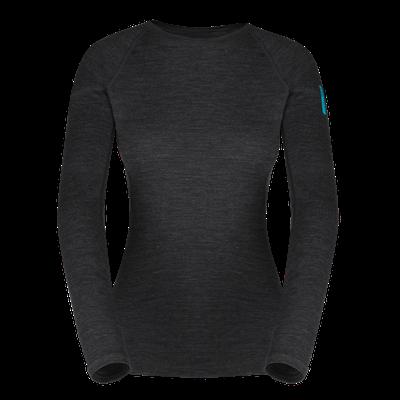 Termoprádlo Zajo Elsa Merino W Tshirt LS - black