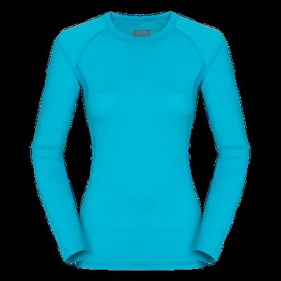 Zajo Elsa Merino W Tshirt LS - modrá