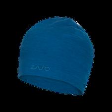 Čiapka Zajo Hals Typo Merino Beanie - modrá
