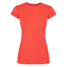 Termoprádlo Zajo Litio W T-shirt SS - fluo coral