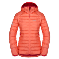 Páperová bunda Zajo Livigno W Jkt - rose orange 489685c7e02