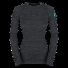 Termoprádlo Zajo Nora Merino W T-shirt LS - black