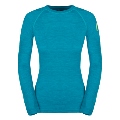 Termoprádlo Zajo Nora Merino W T-shirt LS - enamel blue