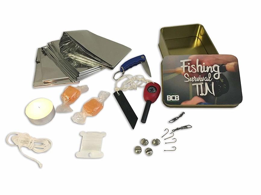 Rybárska sada BCB Adventure Fishing Survival Kit