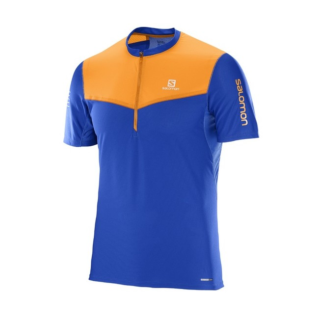 Salomon Fast Wing HZ SS Tee M - surf the way