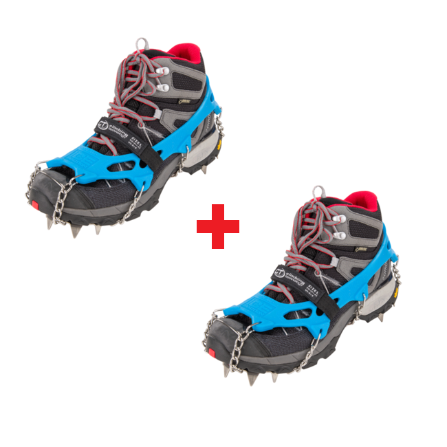 Set 1+1 Mačky Climbing Technology Ice Traction Plus