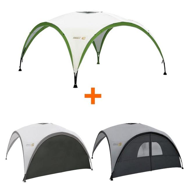 Set Coleman Event Shelter PRO L + 2x Zástena k Event Shelter L
