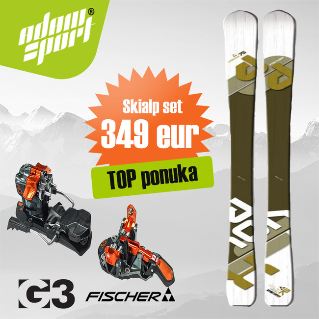 Set Fischer Tour X-Pression + G3 ION 12