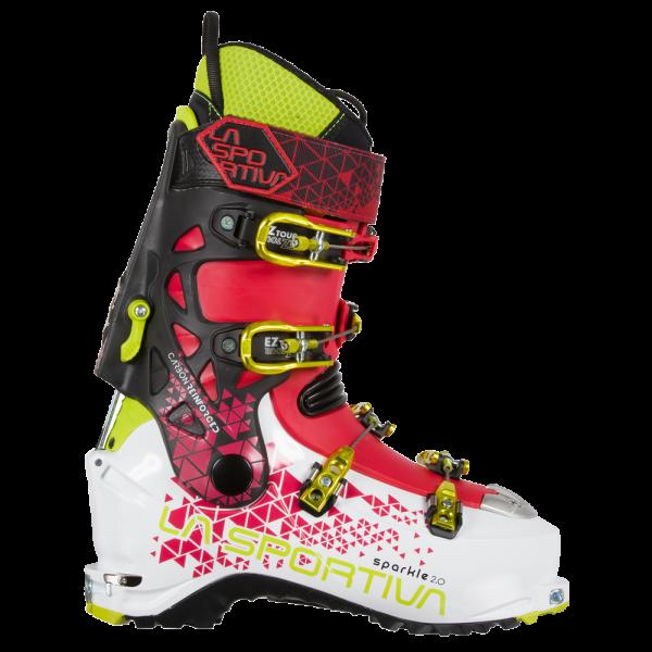 Skialpinistické lyžiarky La Sportiva Sparkle 2.0 woman white garnet ... e096e20772f