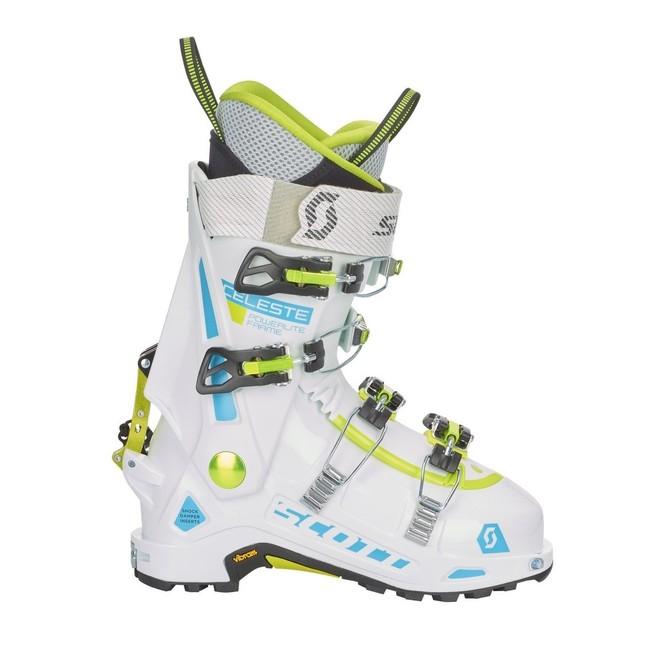 Skialpinistické lyžiarky Scott Celeste 18 19 - white white ... 81519b2a5ea