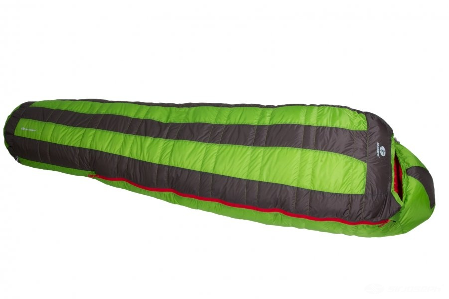 Páperový spacák Sir Joseph Looping II 1200 - zelená - 190 cm