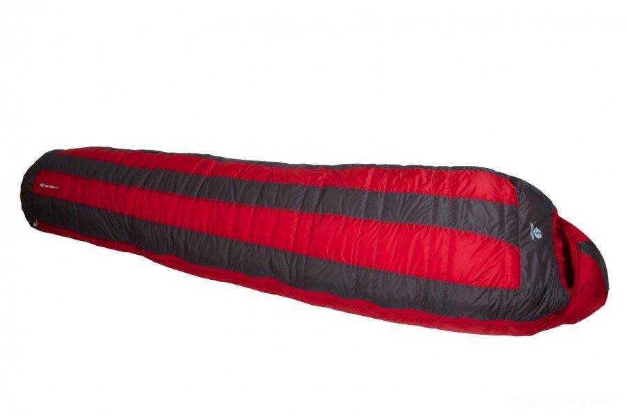 Páperový spacák Sir Joseph Looping II 500 - červený - 190 cm