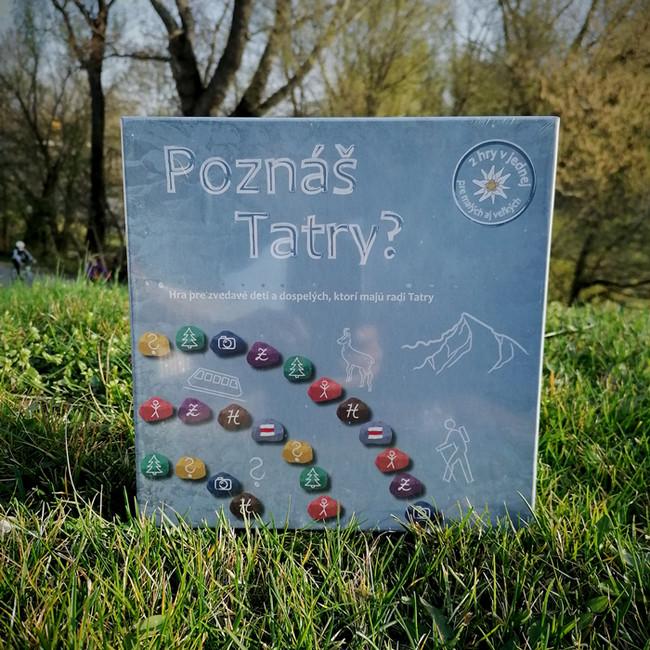 Spoločenská hra Poznáš Tatry?