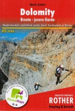 Sprievodca Rother - Dolomity
