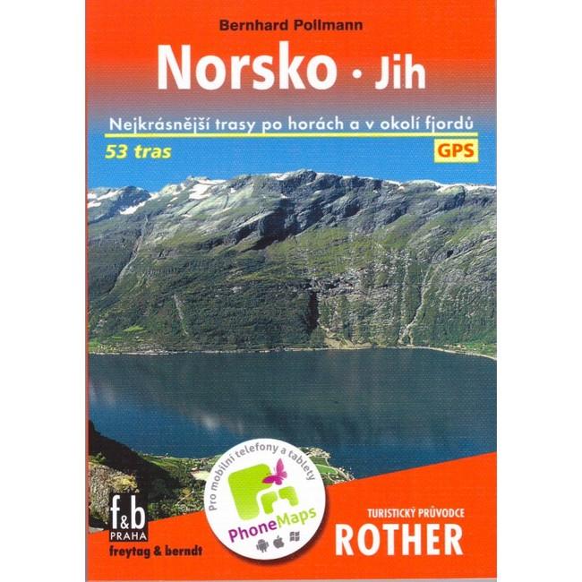 Sprievodca Rother - Nórsko Jih