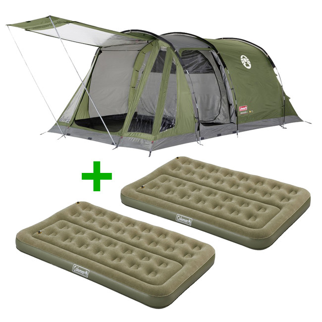 Stan Coleman Galileo 4 + 2x matrac Coleman Comfort bed compact double