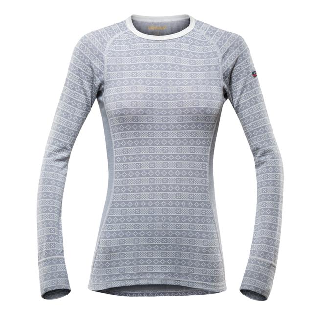 Termoprádlo Devold Alnes Woman Shirt - grey  ce1fc10cb60