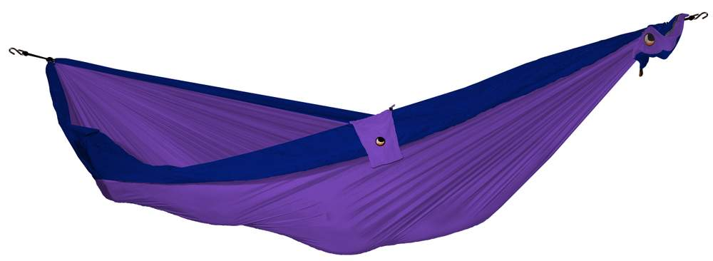 Ticket to the moon single hammock - purple/navy