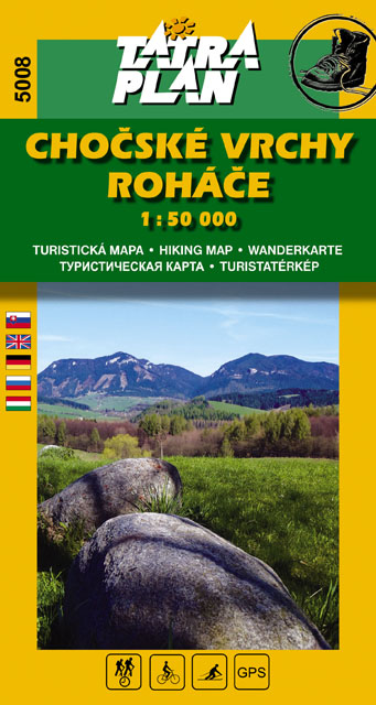 TM 5008 Chočské vrchy, Roháče 1:50 000