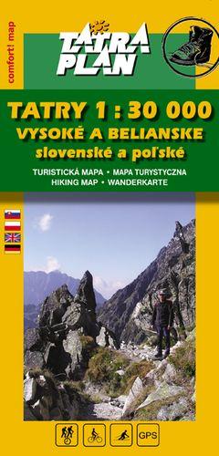 TM Vysoké Tatry 1:30 000