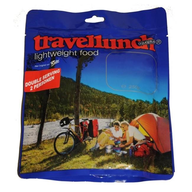 Dehydrovaná strava Travellunch Divoké huby s rezancami - dvojitá porcia
