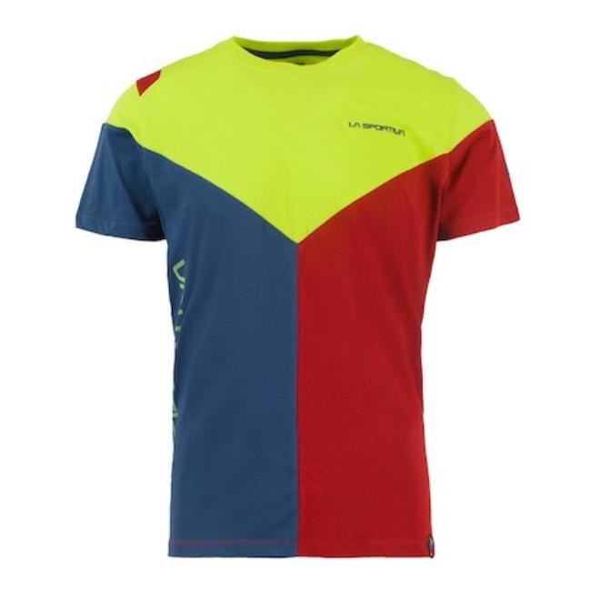 408ae4ac Tričko La Sportiva Dru T-Shirt - apple green/opal | AdamSPORT.eu