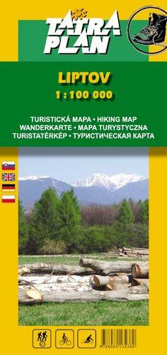 Turistická mapa Tatraplan Liptov 1:100000