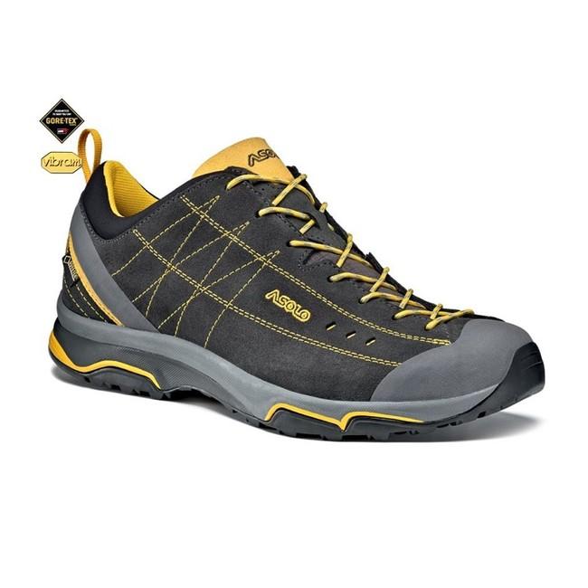Turistická obuv Asolo Nucleon GV MM - graphite yellow  abe3926e92