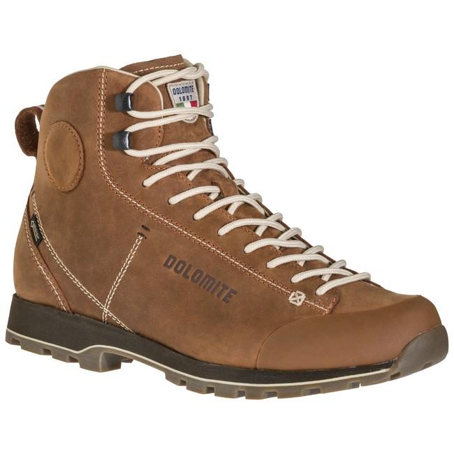 Turistická obuv Dolomite Cinquantaquattro High Fg Gtx - ochre red - 6+ / 39'5