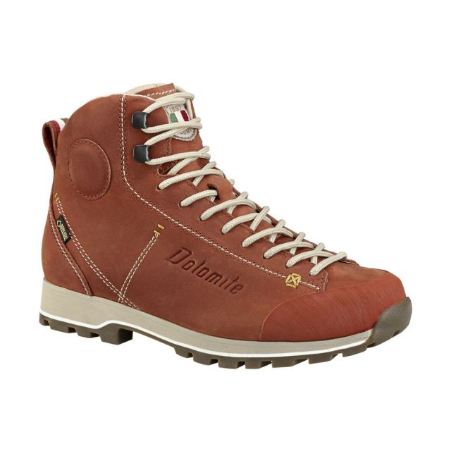 67a8995ca1a7 Turistická obuv Dolomite Cinquantaquattro High Fg GTX - paprika orange