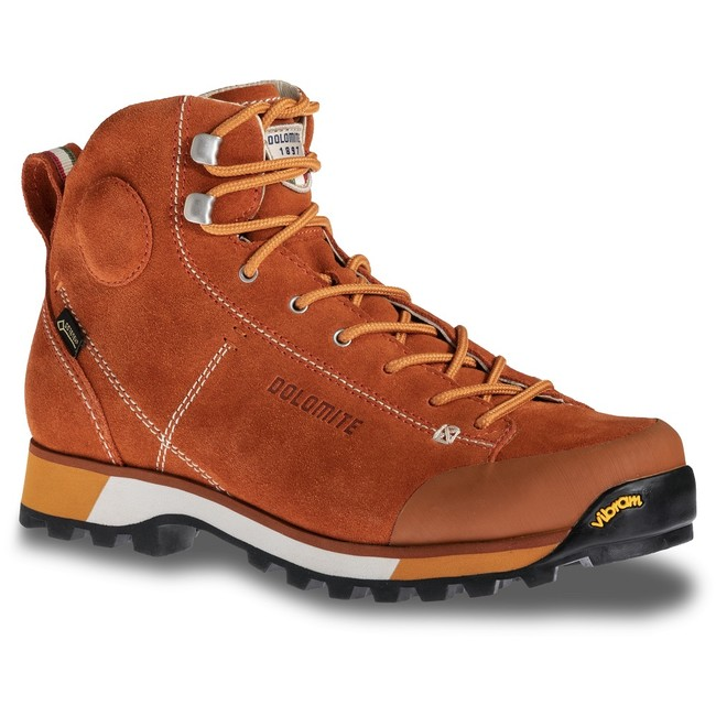 Turistická obuv Dolomite Cinquantaquattro Hike W´s GTX - rusty red - 6 / 39