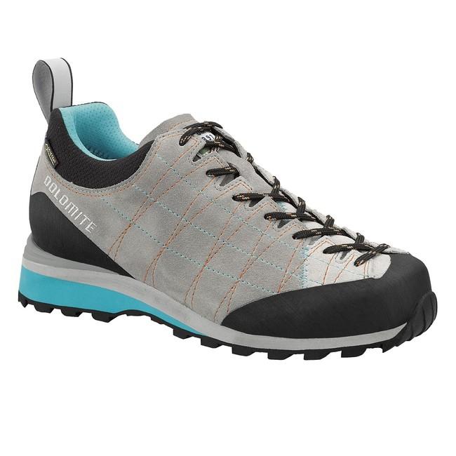 Turistická obuv Dolomite Diagonal GTX W´s - pewter grey/atoll blue - 6 / 39