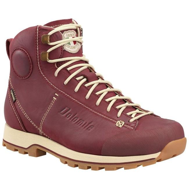 Turistická obuv Dolomite Shoe Cinquantaquattro High Fg Gtx W - Burgundy Red - 6 / 39