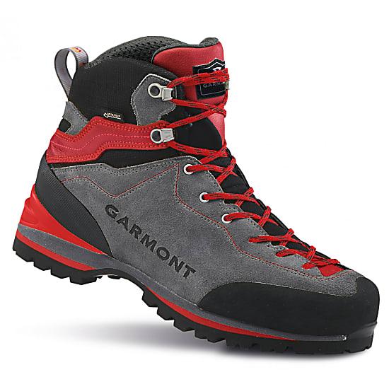 Turistická obuv Garmont Ascent GTX - grey/red - 8 / 42