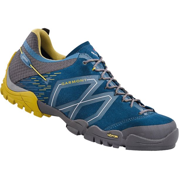 b96953d366dd Turistická obuv Garmont Sticky Stone GTX - night blue dark yellow ...