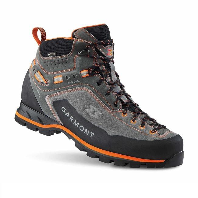 Turistická obuv Garmont Vetta GTX - dark grey/orange - 6+ / 39'5