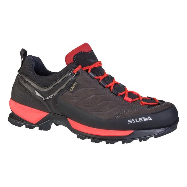 Turistická obuv Salewa WS MTN Trainer GTX - black out/rose red - 6 / 39