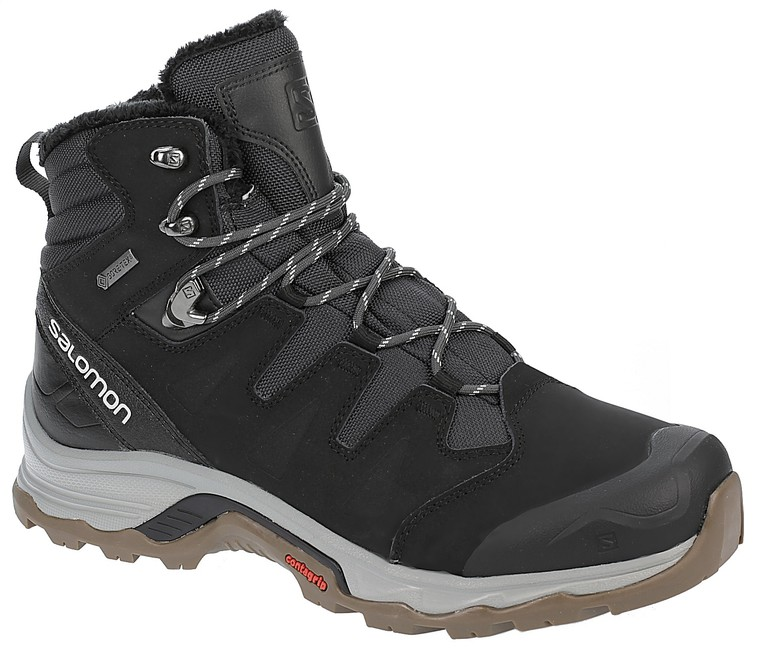 Turistická obuv Salomon Quest Winter GTX - phantom/black/vapor blue - 8'5 / 42'5