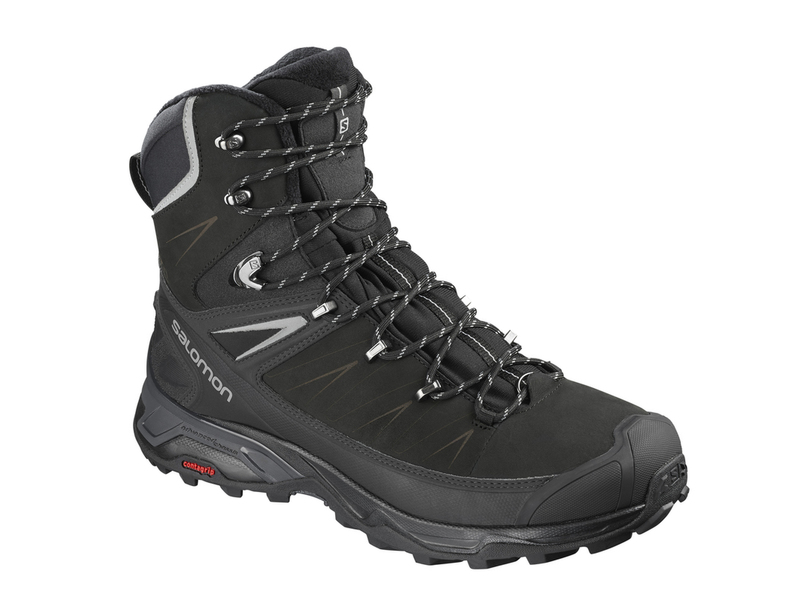Turistická obuv Salomon X Ultra Winter CS WP 2 - Black/Phantom - 8 / 42