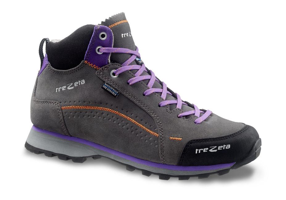 Turistická obuv Trezeta Spring WP Mid 2018 - 321 - grey/violet - 3'5 / 36