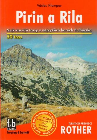 Turistický sprievodca Rother Pirin a Rila