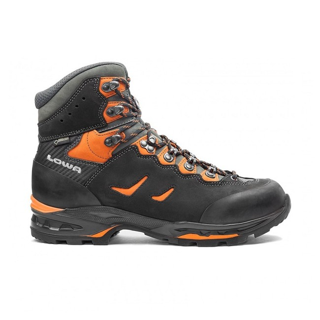 Turistická obuv Lowa Camino GTX - black/orange