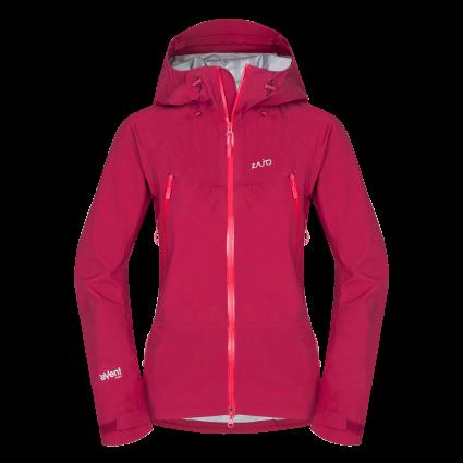 Nepremokavá bunda Zajo Silvretta W Jkt - ružová - L