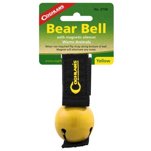 Zvonček na medvede - žltá